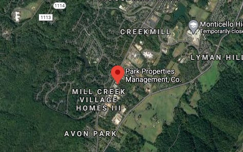 Park Properties Management Company Map