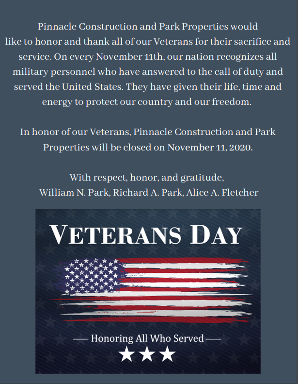 PPMC and PCDC Honor Veterans