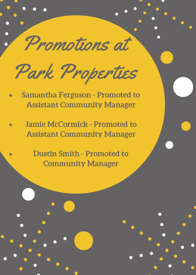 Park Properties Promotions
