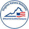 VA Values Veterans Seal