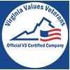 VA Values Veterans Seal