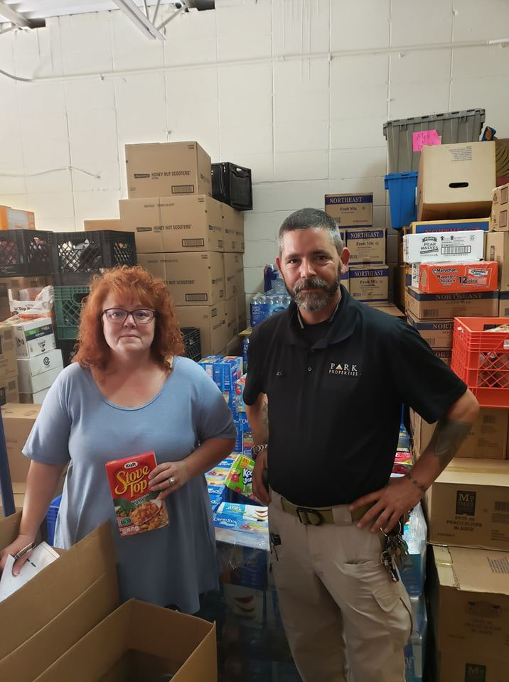 The Lofts at Jubal Square Hosts Food Drive for CCAP Food Pantry