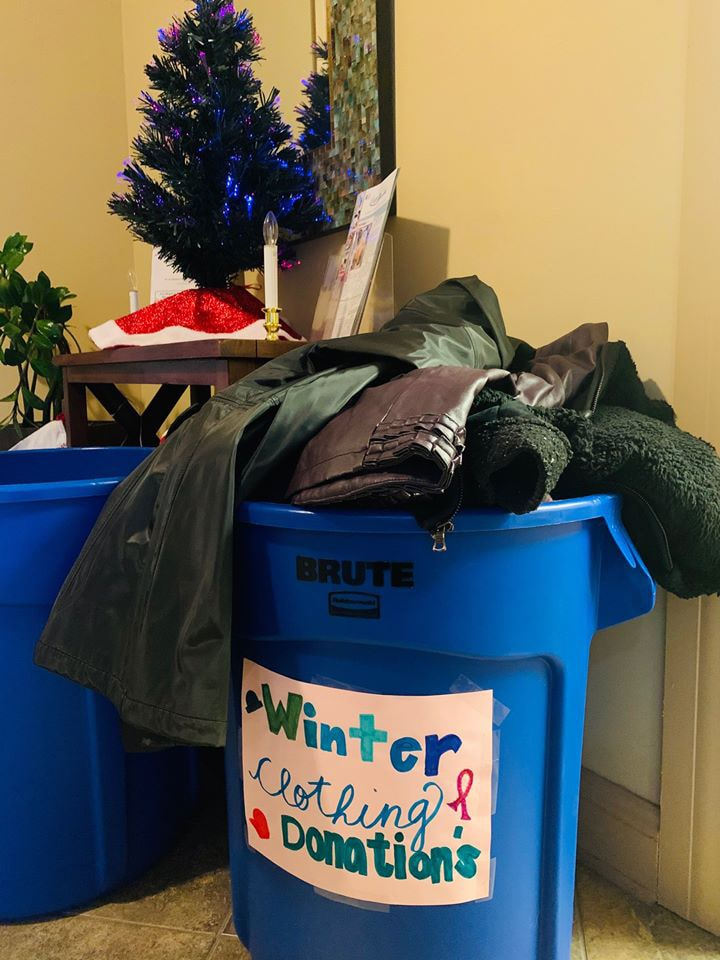 Winter Warm Up Clothing Drive Wraps Up with Large Donation to Salvation Army