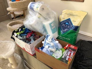 Southside SPCA Benefits from Supply Drive at Poplar Forest Apartments