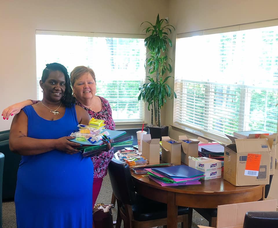School Supply Giveaway at Treesdale Apartments