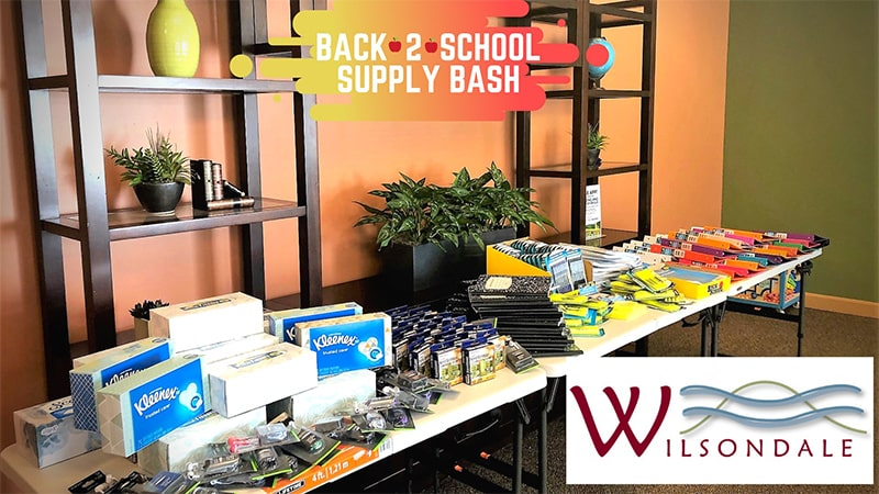 Back to School Supply Bash Gets Students Ready for Successful Year