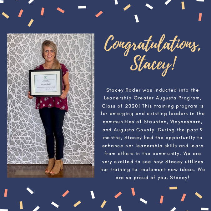Stacey Rader Inducted Into the Leadership Greater Augusta Program